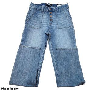 NWOT Jordache  high rise button front denim jeans size 8